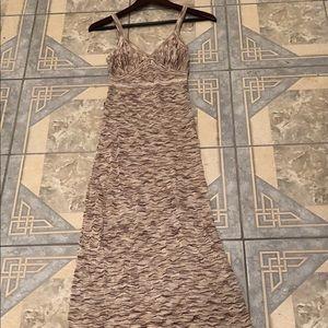 New Bebe maxi dress.